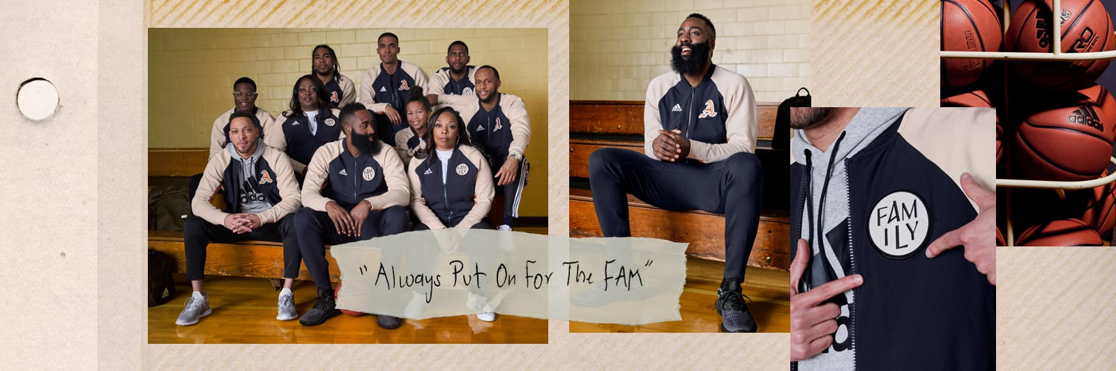 JAMES HARDEN: ALWAYS PUT ON FOR THE FAM