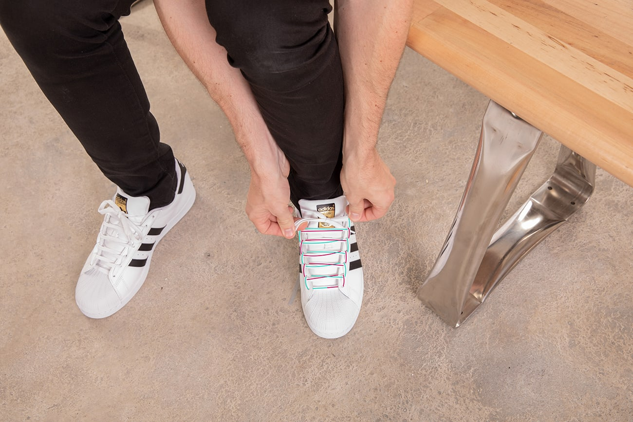 HOW TO LACE SNEAKERS