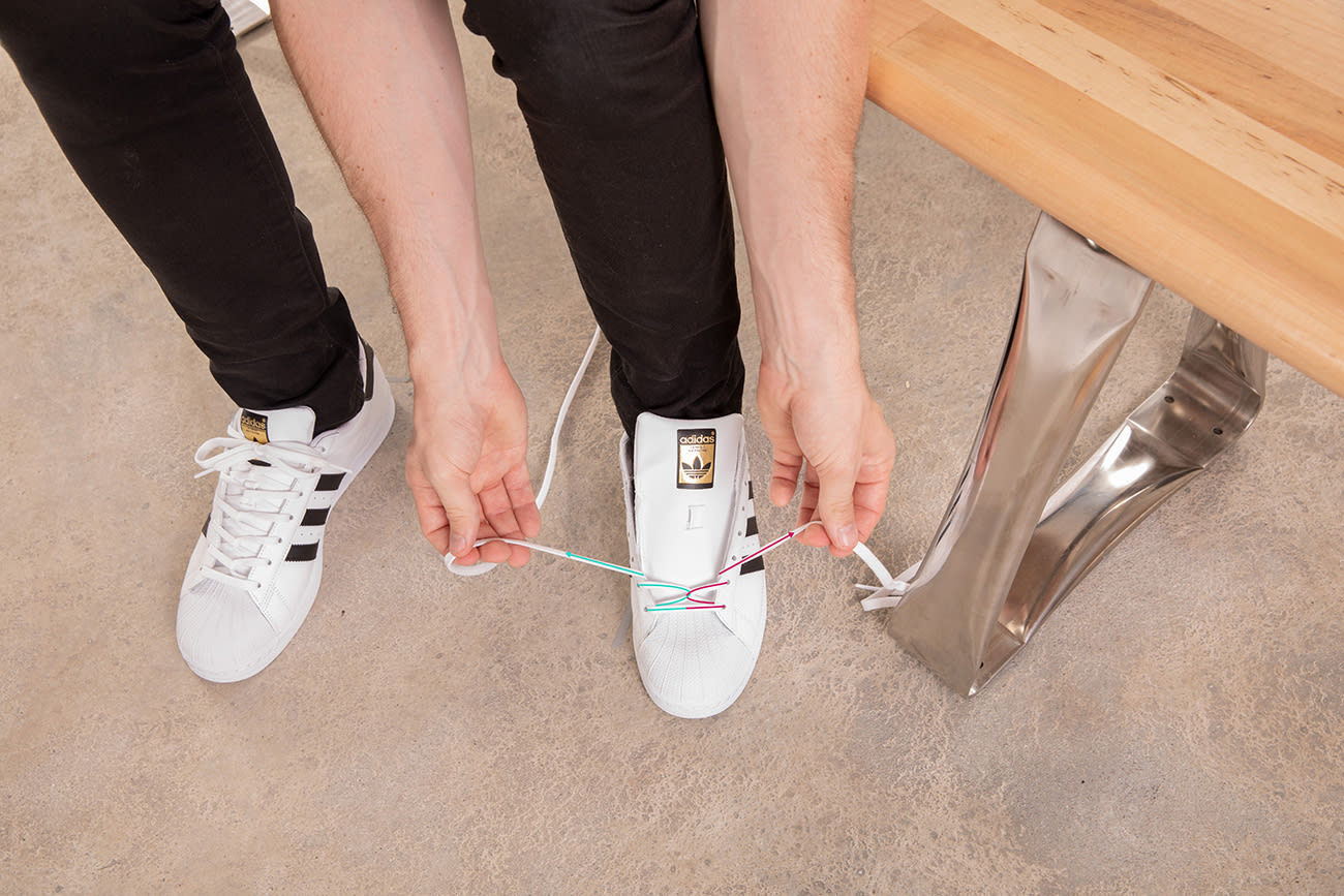 best way to lace stan smiths