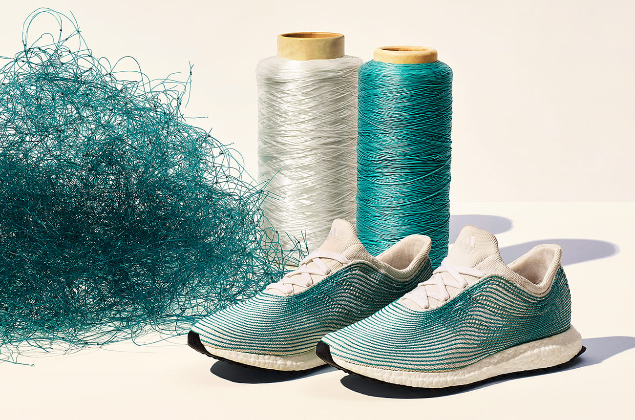 Adidas releases new Parley ocean waste plastic shoes