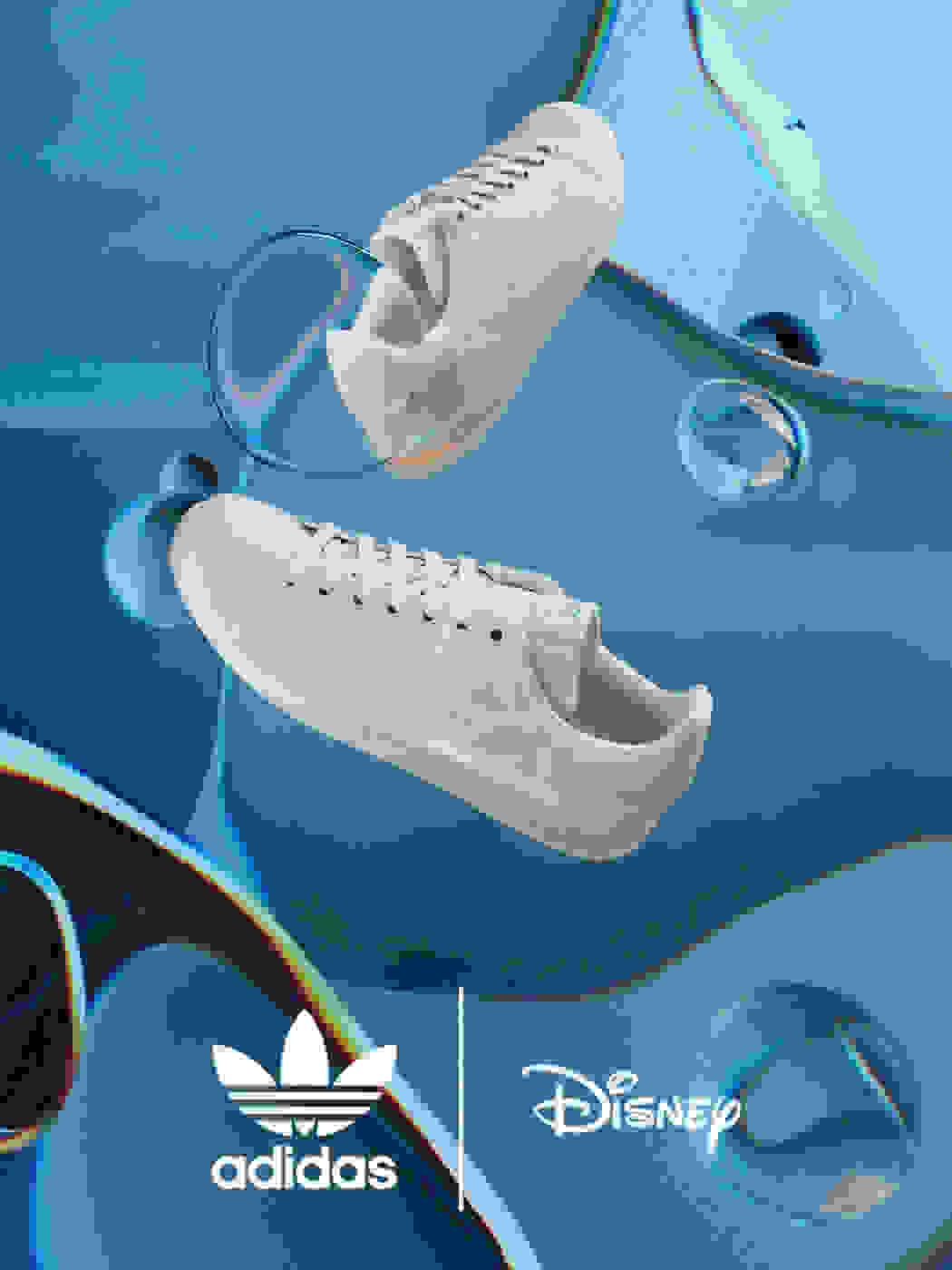 adidas Originals shoes from The Little Mermaid Collection