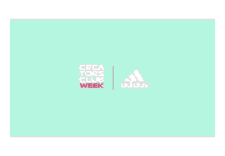Adidas and Creators Club Week Logo