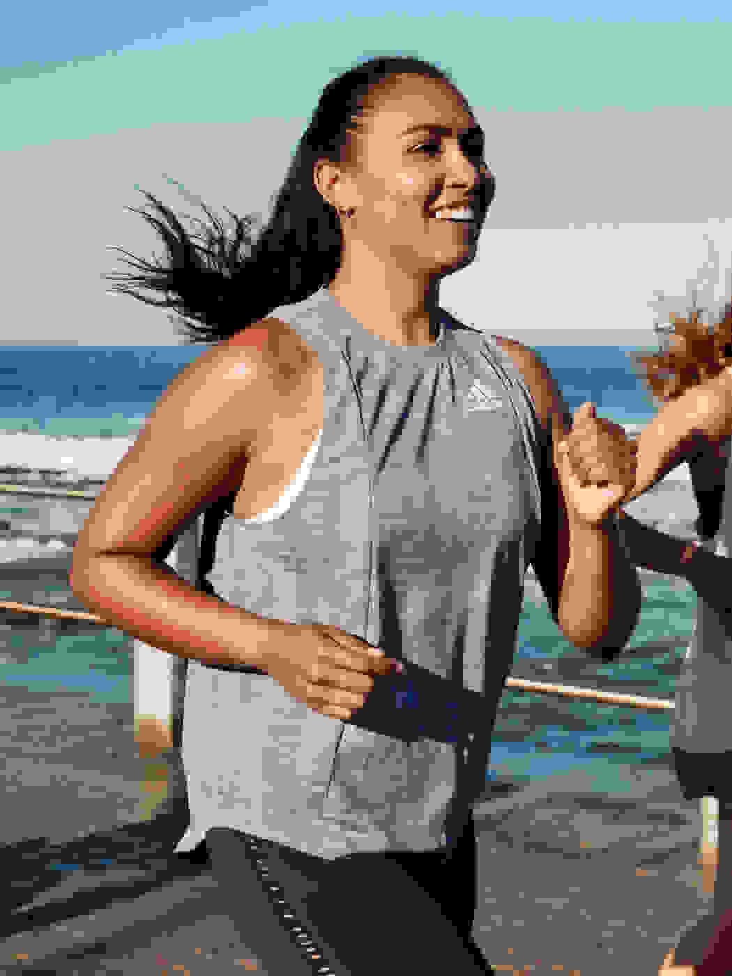 A Woman is running for Run For The Oceans