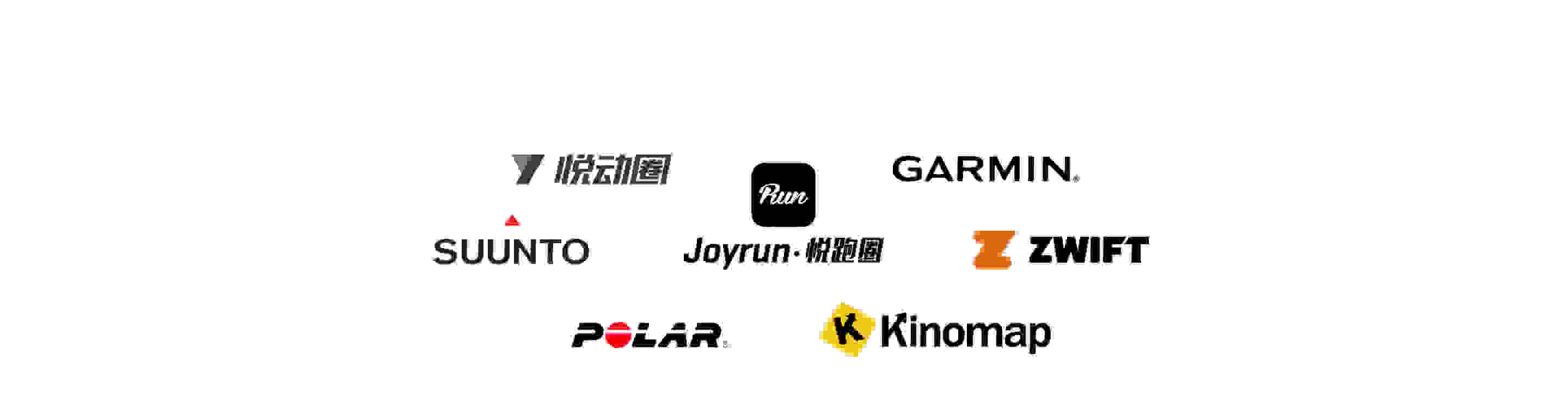 Logo's of all of our tracking partners