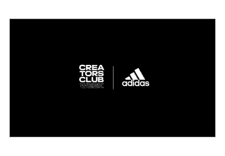 Adidas Creators Club Week Logo