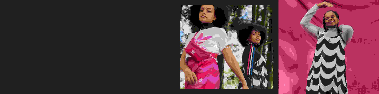 colección de imágenes de los modelos luciendo atuendos Originals