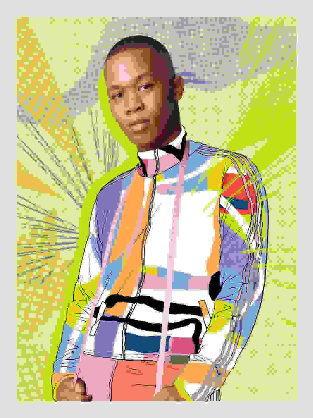 Collage featuring Pride representative.