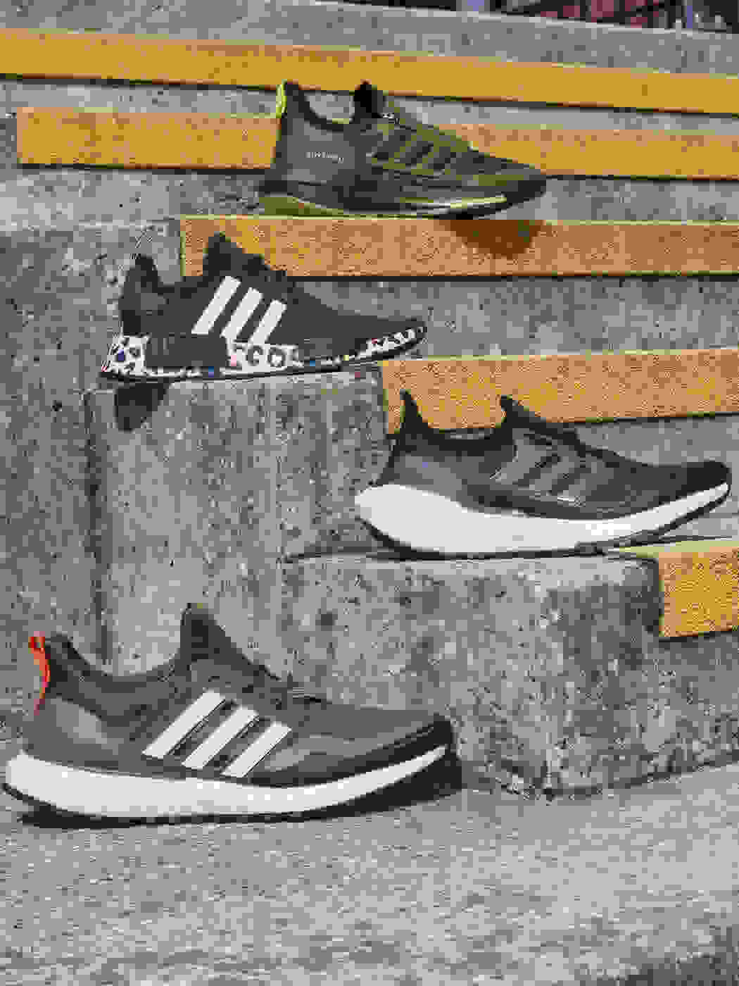 Photography of different pairs of Boost