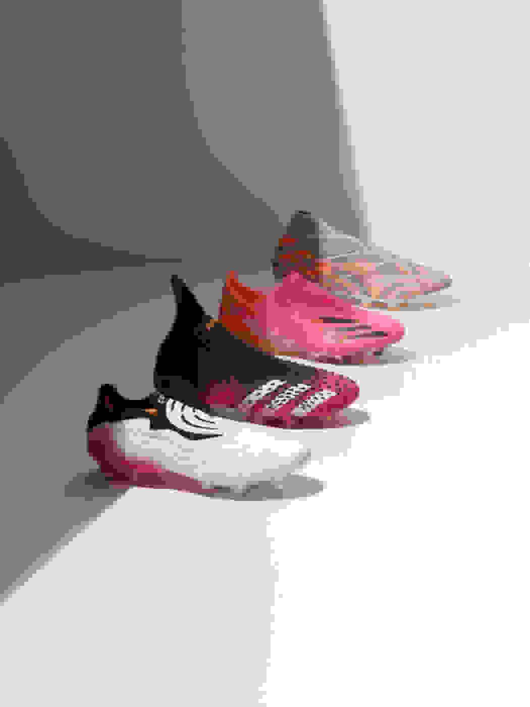 Image featuring the Predator, Nemeziz, X and Copa boots.