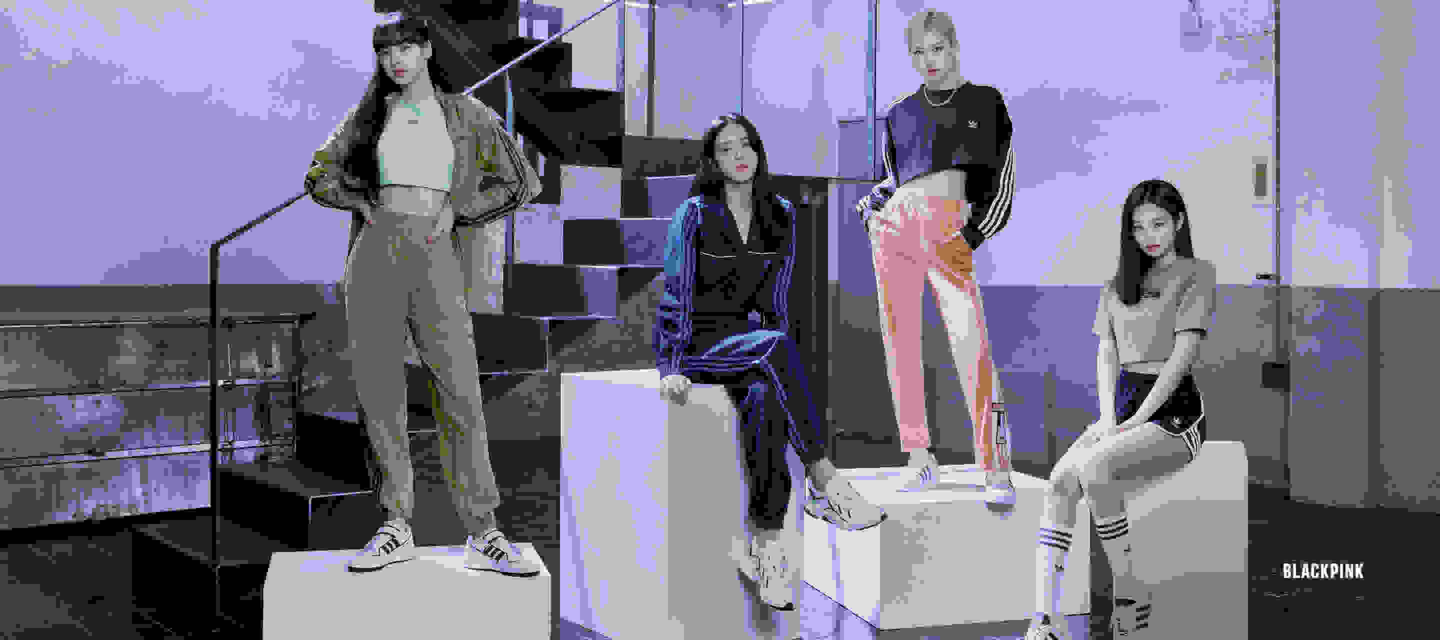 The four members of Blackpink are ready to make moves