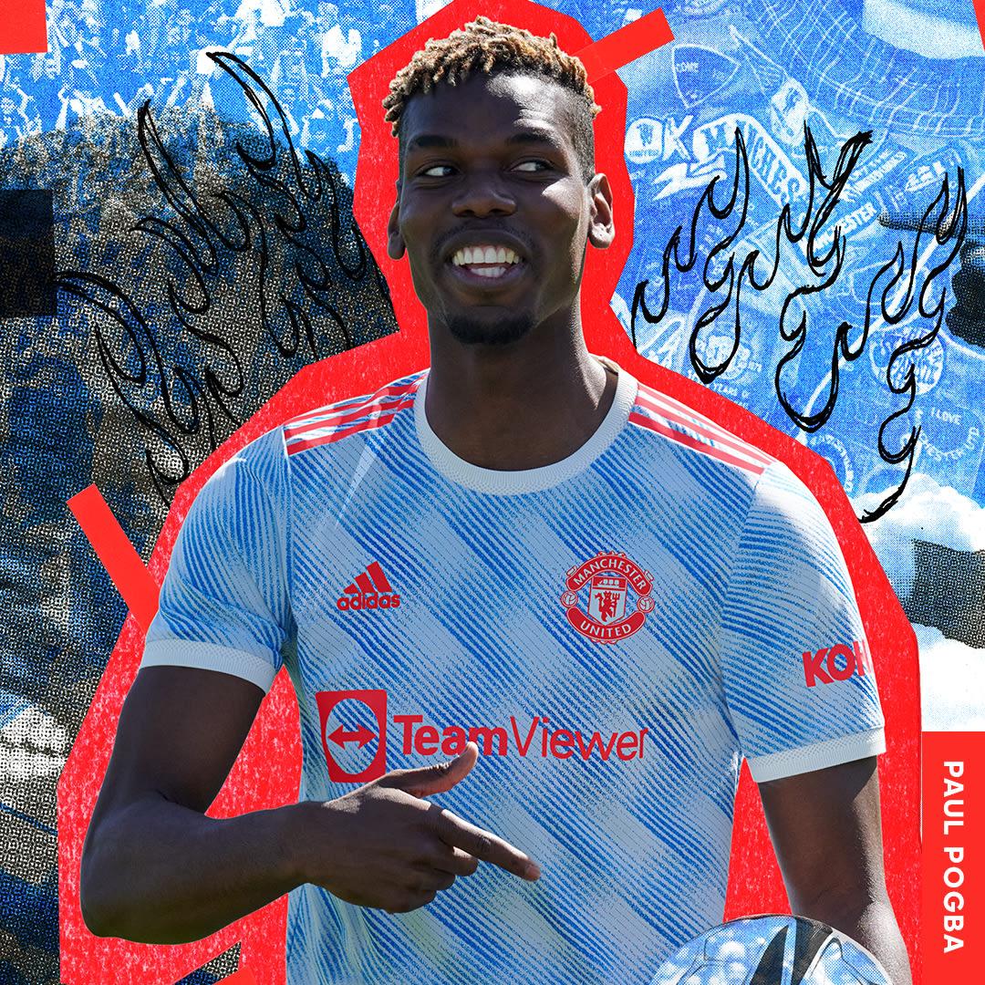 Muži Fotbal bílá Venkovní dres Manchester United 21/22 Authentic