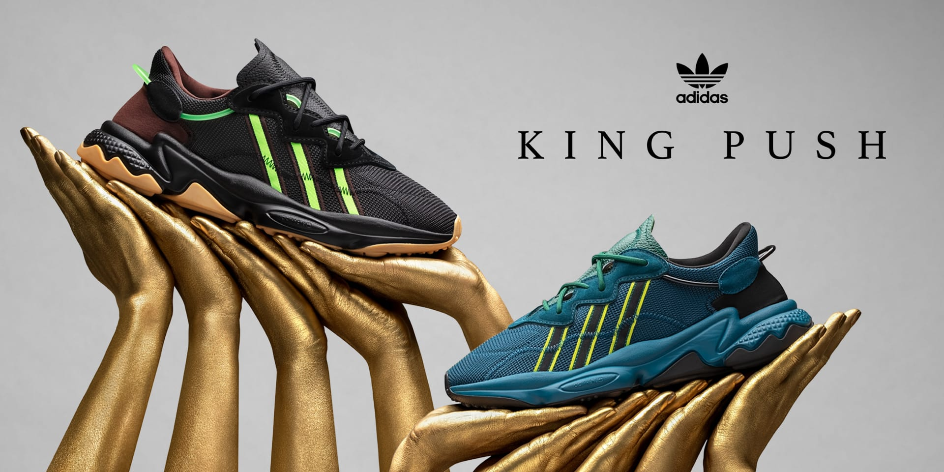 adidas Originals x Pusha T Ozweego 'King Push' Til Kvinder