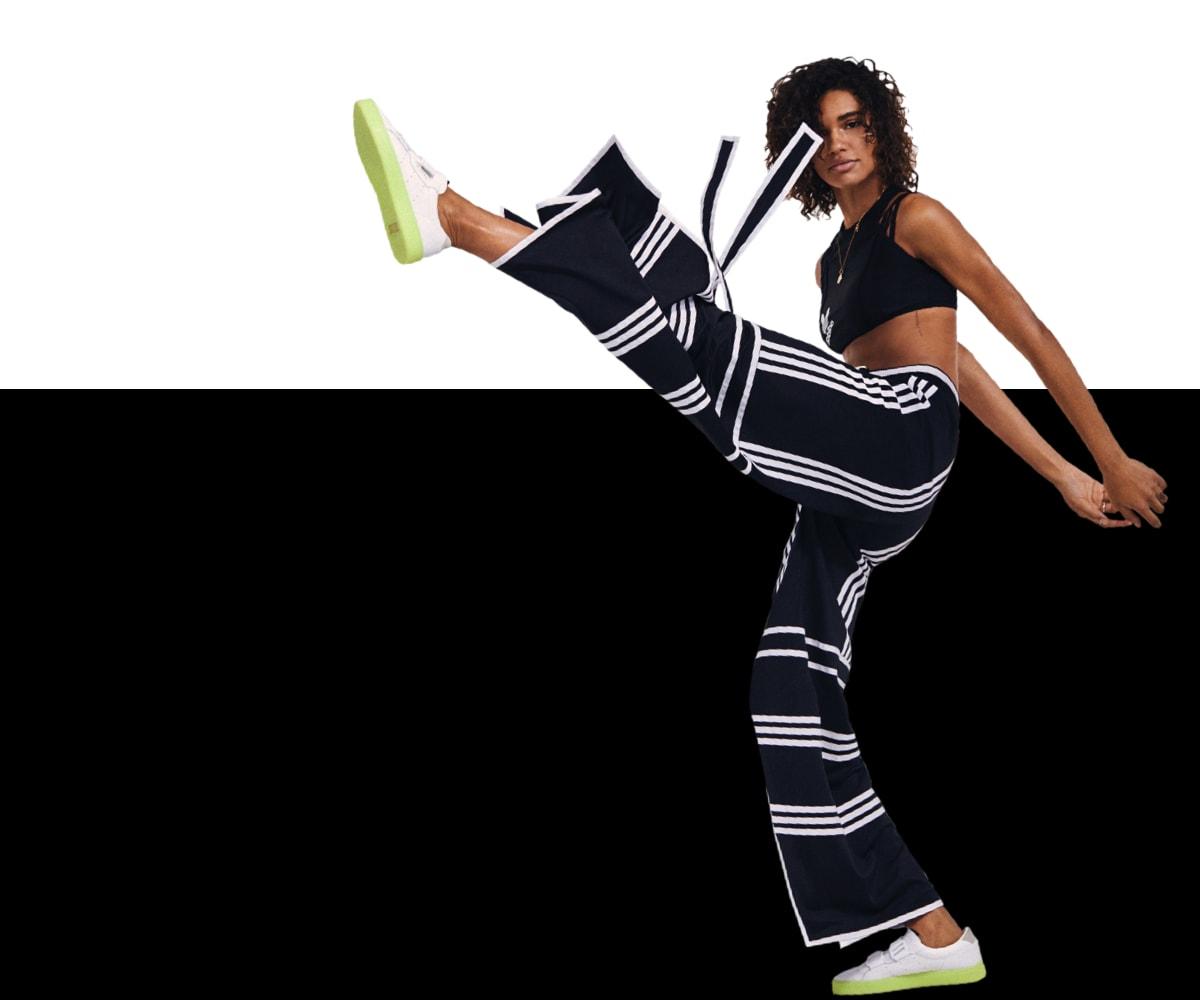 Adidas Originals By Ji Won Choi 3 Stripe Jogger Pants