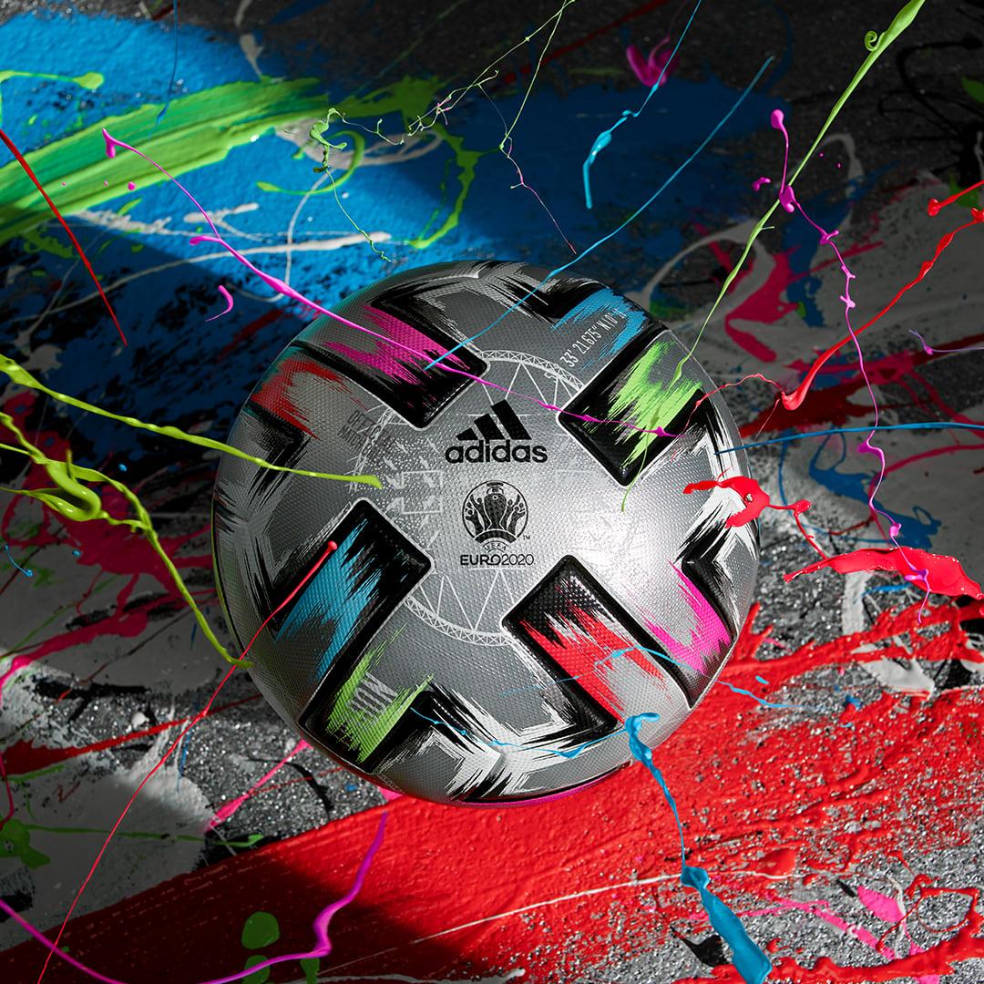 Fodbold Sølv Uniforia Finale Pro bold