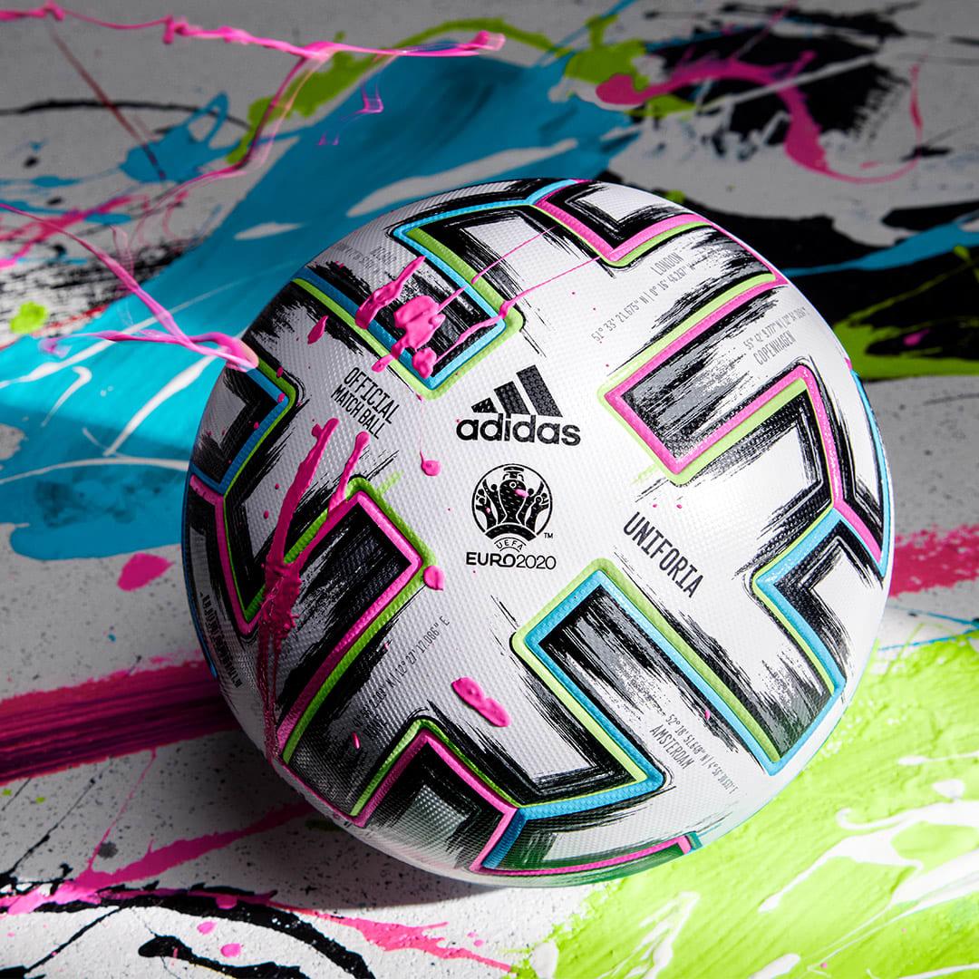 Fodbold Hvid Uniforia Pro fodbold