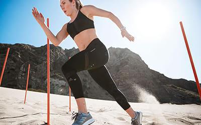 Adidas Originals dame sport aktiv gym et stykke Jumpsuit shorts sæt lilla
