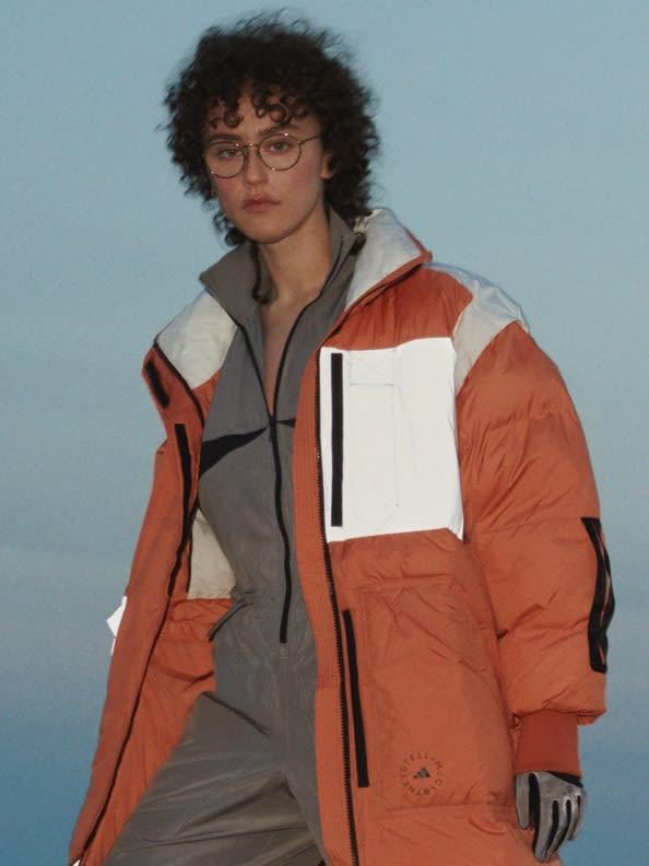 Ella Emhoff models the EARTH EXPLORER jacket