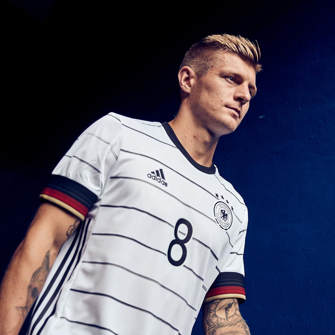 Männer Fußball DFB Heimtrikot Authentic Weiß