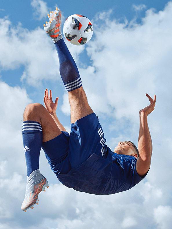 Action image featuring the Nemeziz Boots.