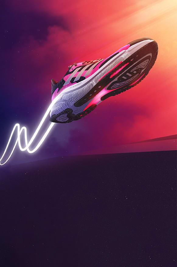 Solarboost 3 running shoe