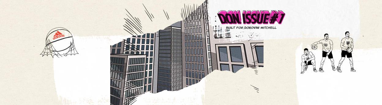 Adidas Don Issue 1: Donovan Mitchell's Marvel Spider Man