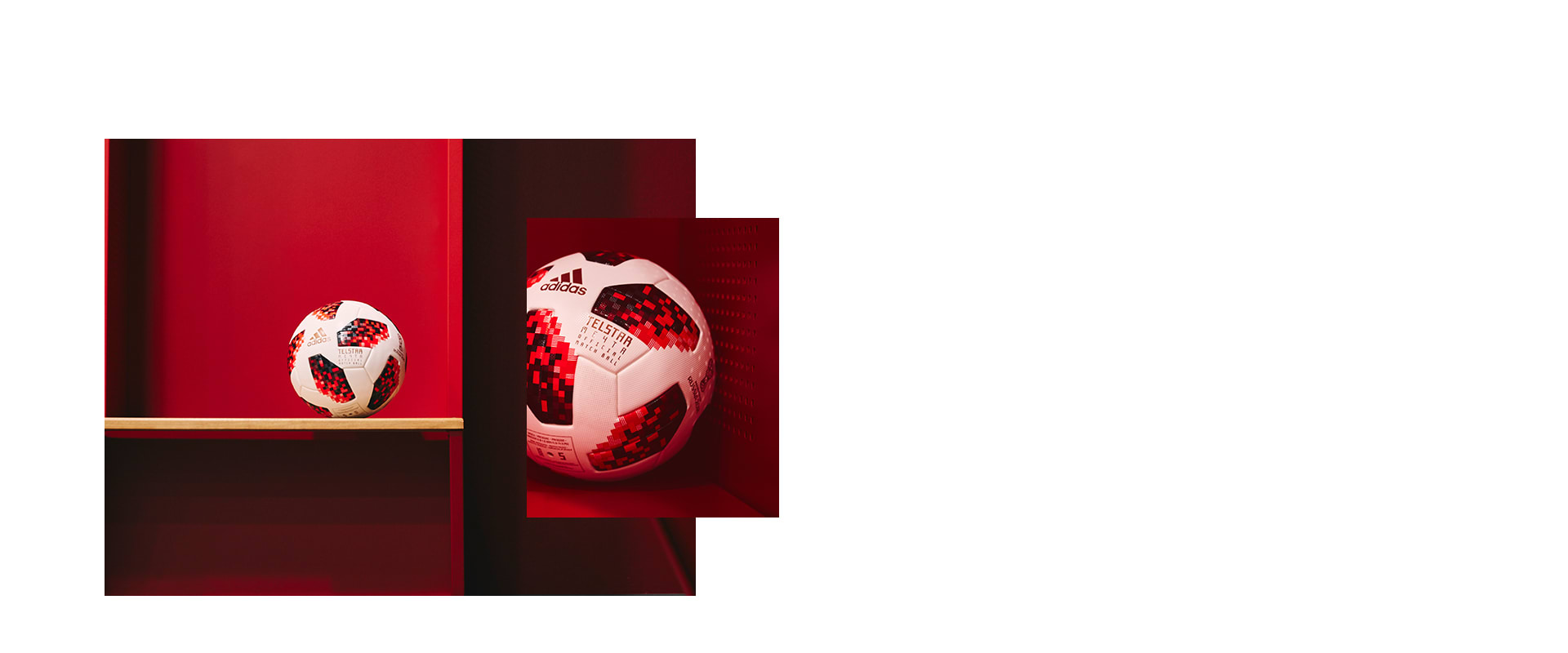 83110a4d0 TAP. CONNECT. CREATE. Telstar 18, the first NFC connected Official Match  Ball for the 2018 FIFA World Cup™.