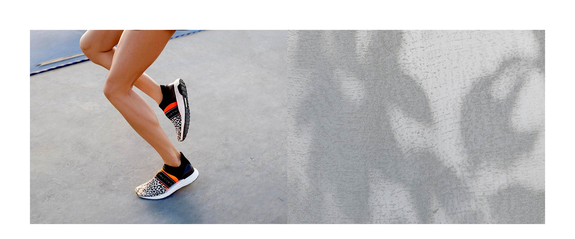 d7cc57865693 CHANGE CREATORS. Run like never before with the new adidas by Stella  McCartney ...