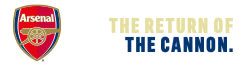 Arsenal Logo Ribbon, the return of the cannon