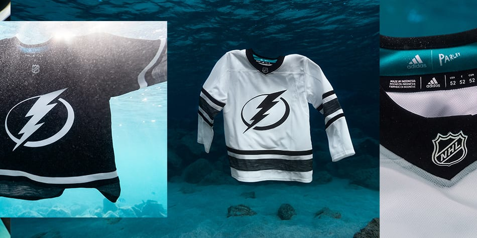 a8677e6e818 adizero Authentic Pro. Introducing the all new Parley jerseys for the 2019  NHL All-Star game