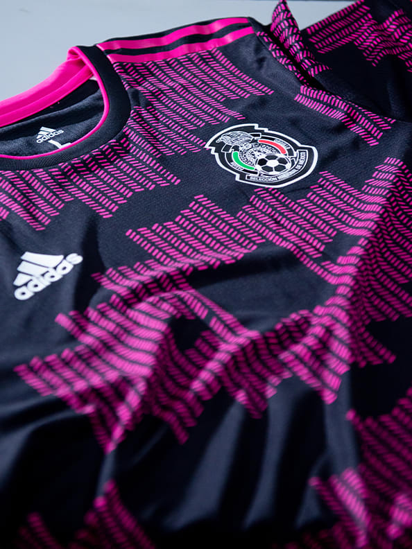 The new Mexico Home Authentic jersey in it's full glory is shown here