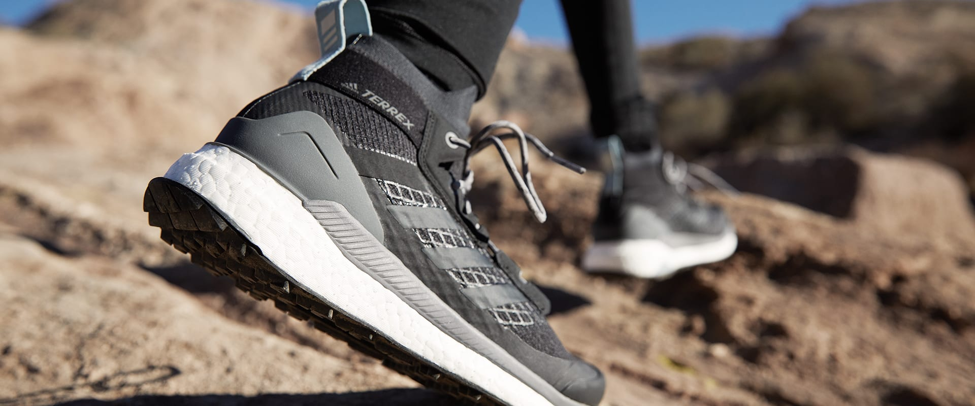 bd6e380764 Get ready to escape the noise in adidas TERREX Free Hiker.