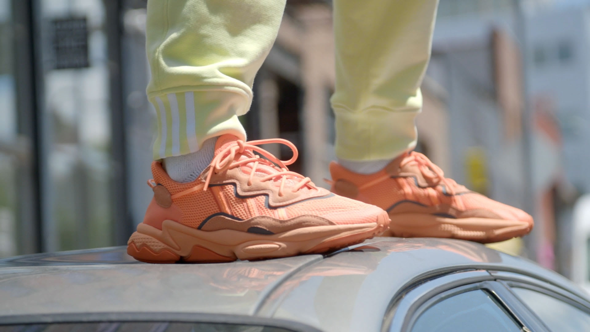 adidas OZWEEGO Shoes - Orange | adidas UK
