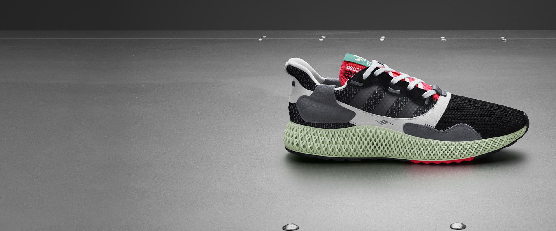 96e8324264 ZX_4000_4D: a futuristic interpretation of adidas heritage, arriving May  25th. App exclusive.