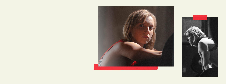 An image showing a portrait of Katie Ledecky