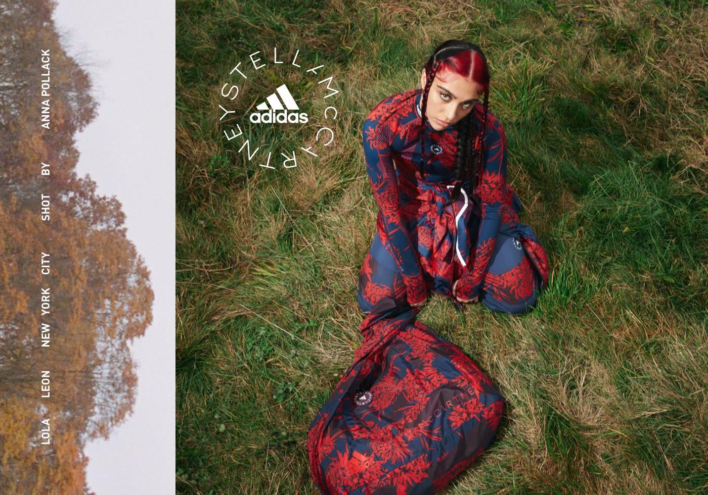 Lourdes Leon wears adidas by Stella McCartney FUTUREPLAYGROUND. Spring/Summer 21.