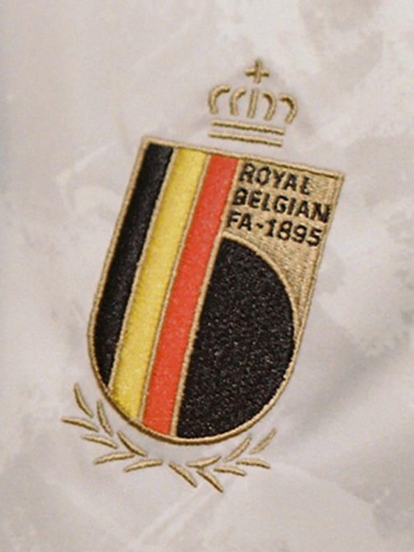 Tessa Wullaert wearing the new Belgium Away jersey.