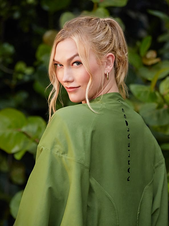 Karlie Kloss in the adidas x Karlie Kloss collection