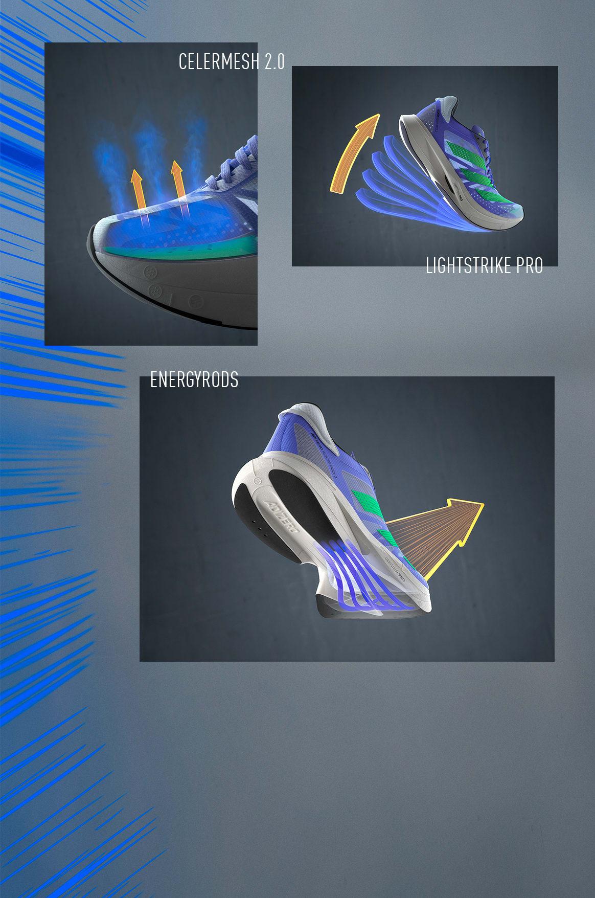 ADIOS PRO 2 product tech illustrations