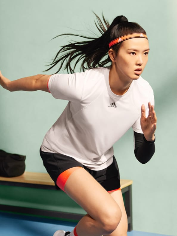 Athletes wearing Tokyo Apparel Collection