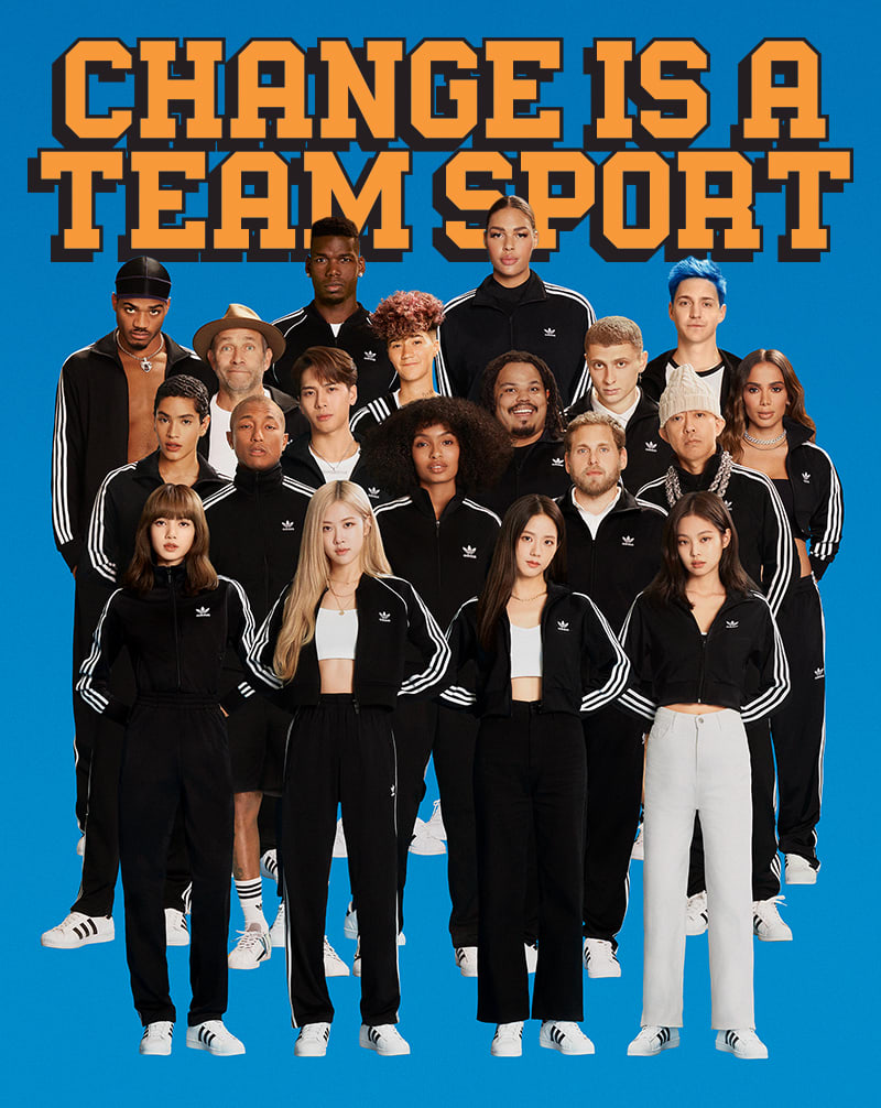 adidas Change Is A Team Sport Collaboration | adidas US
