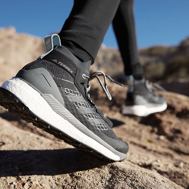 Get ready to escape the noise in adidas TERREX Free Hiker. 95fa0a359