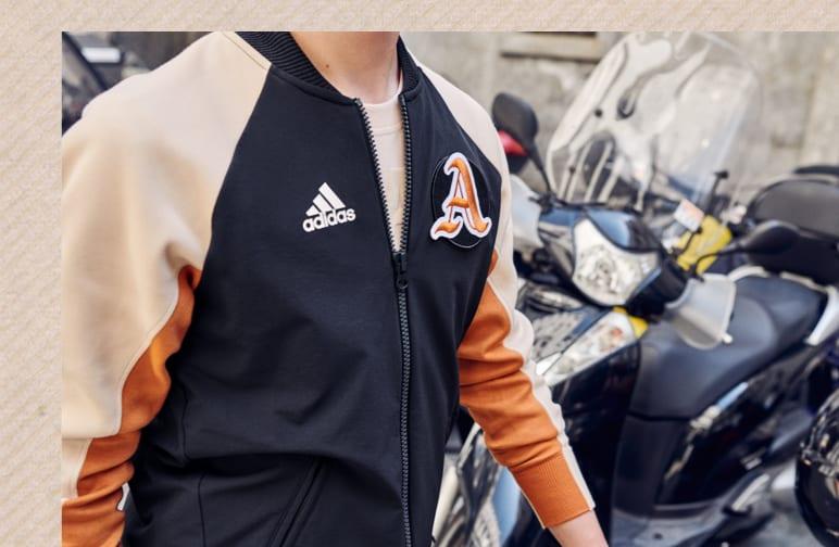 Chaqueta adidas VRCT AzulAzul