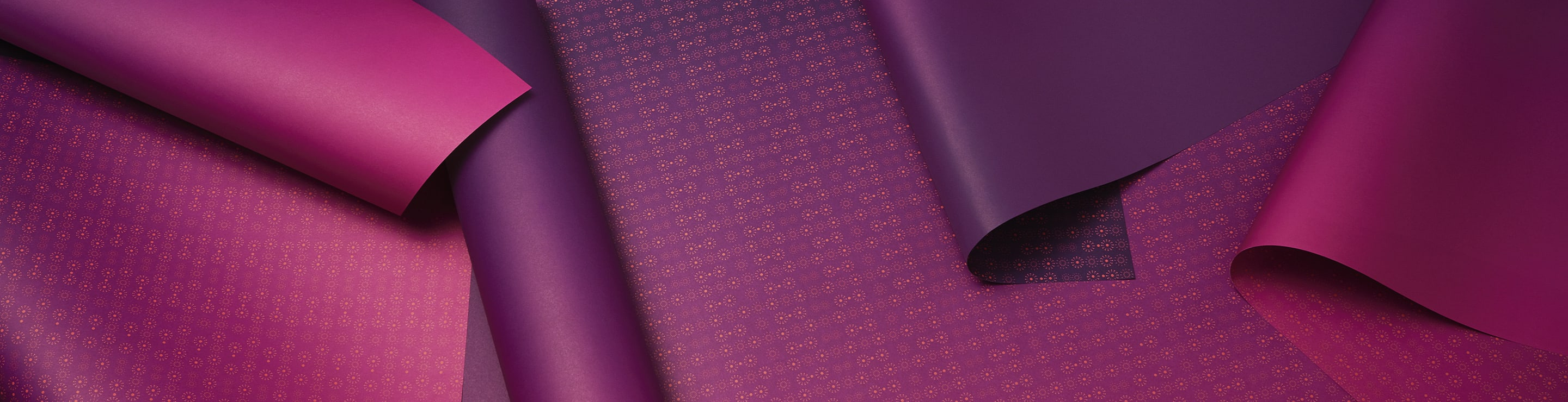 Violet and purple gift background