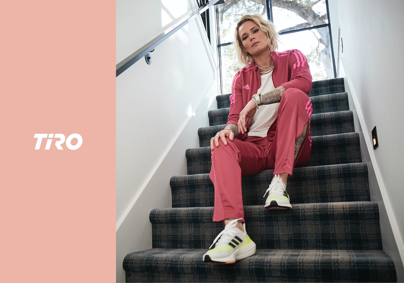 Image showing the key outfits for the Women's TIRO21 collection from adidas. Spring/Summer 2021.