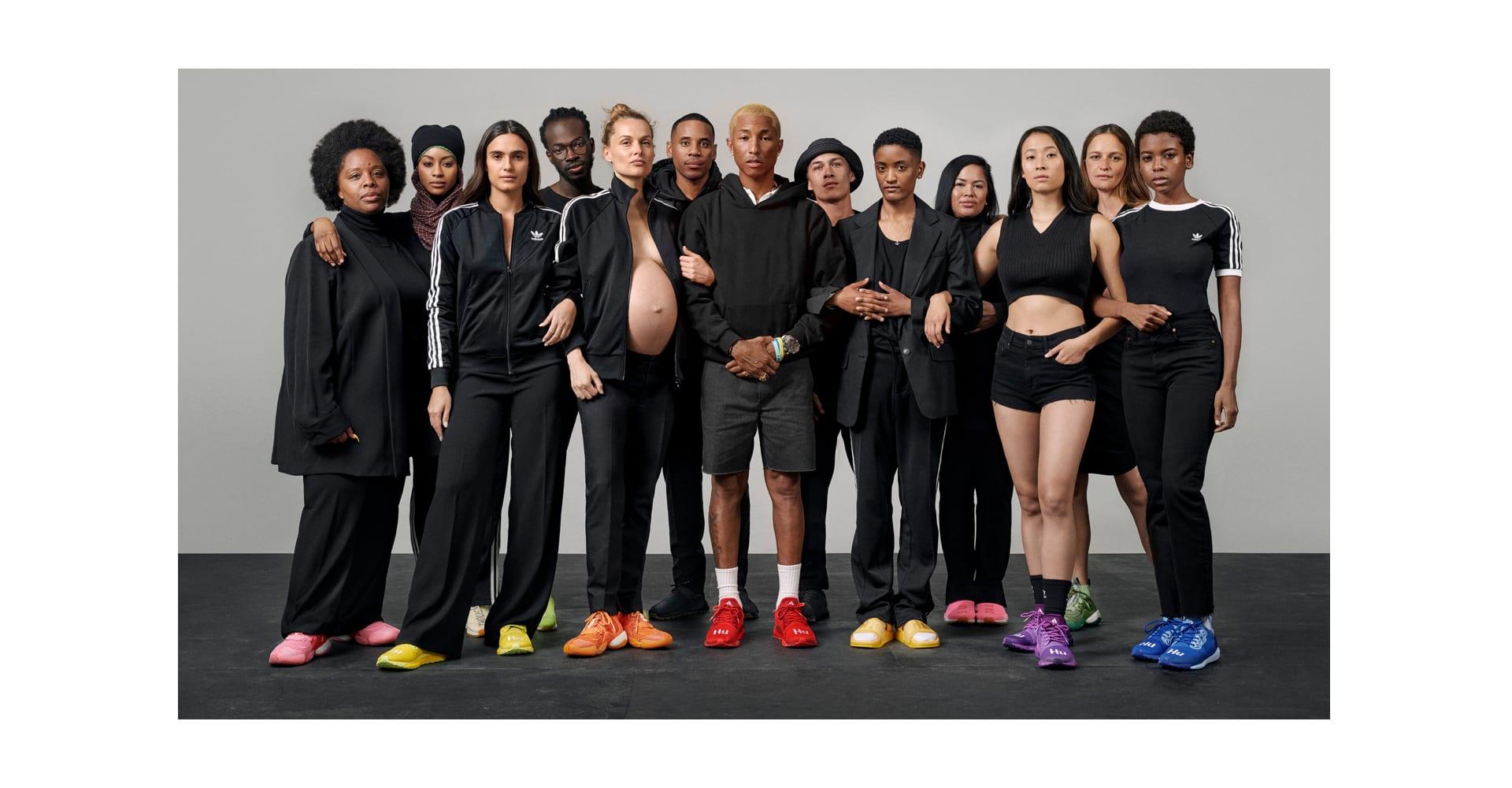 acheter populaire bbfc7 ecf2e Collection adidas Originals = Pharrell Williams Hu Holi ...