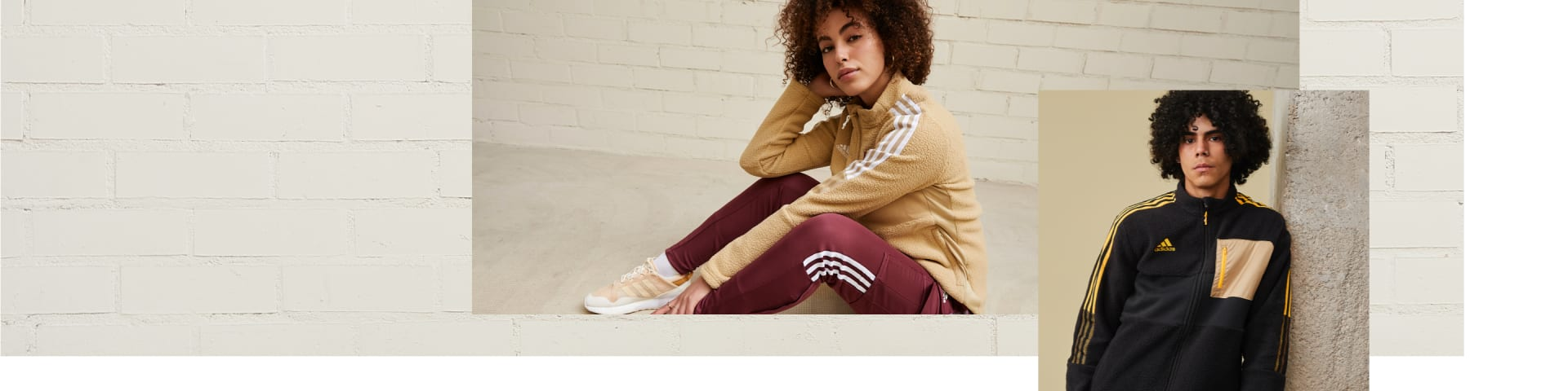 lifestyle image showcasing the latest Winterized collection from adidas TIRO.
