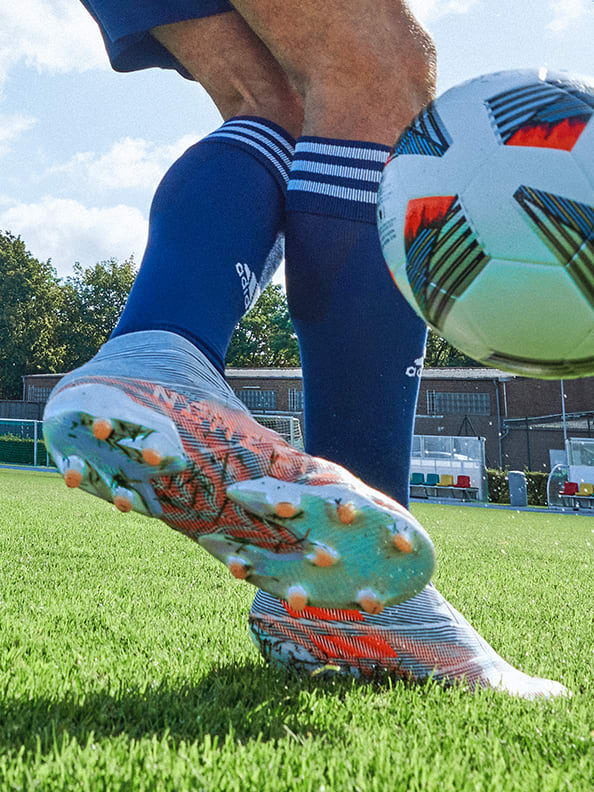 Action image featuring the Nemeziz Boots.