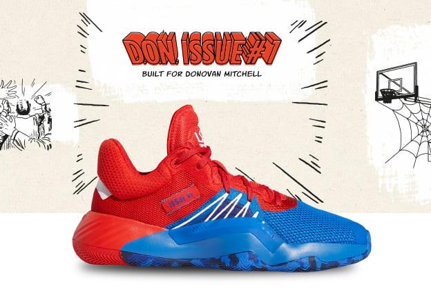 Marvel's Amazing Spider Man D.O.N. ISSUE #1 | adidas Basketbal