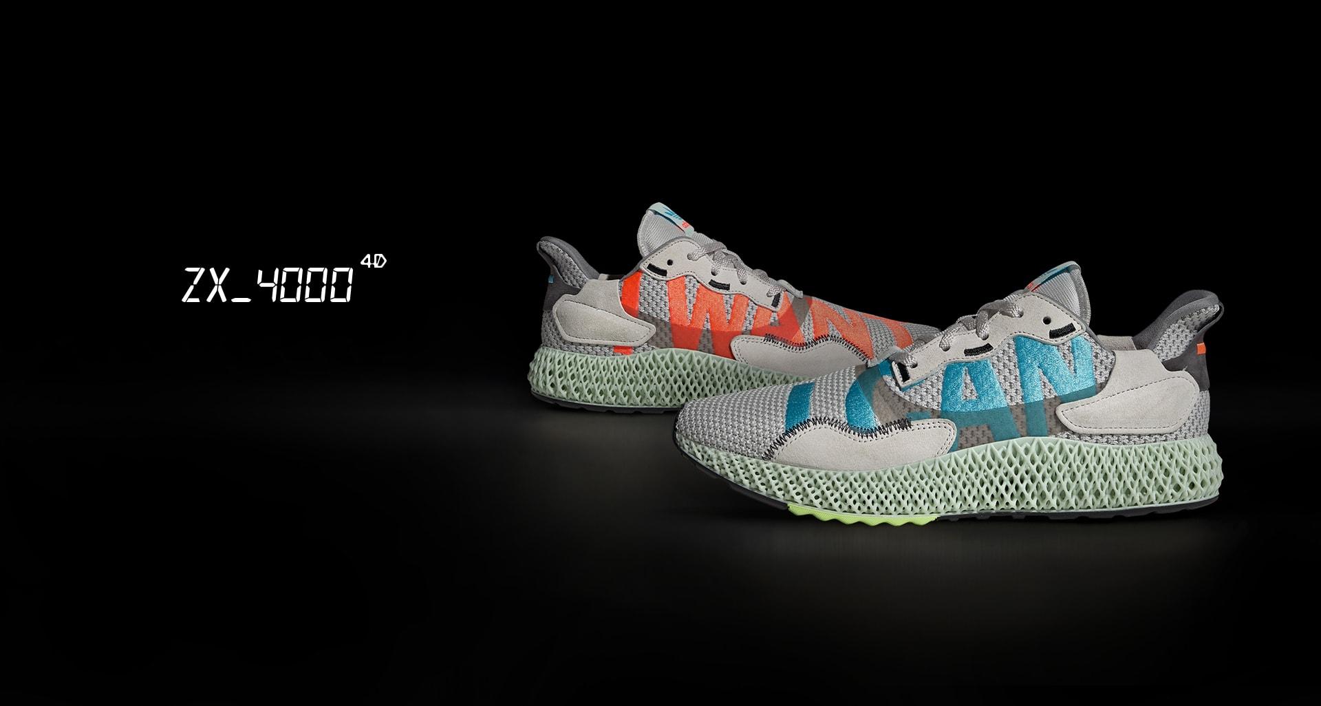 adidas Racing 1 schoenen blauw oranje in de WeAre Shop