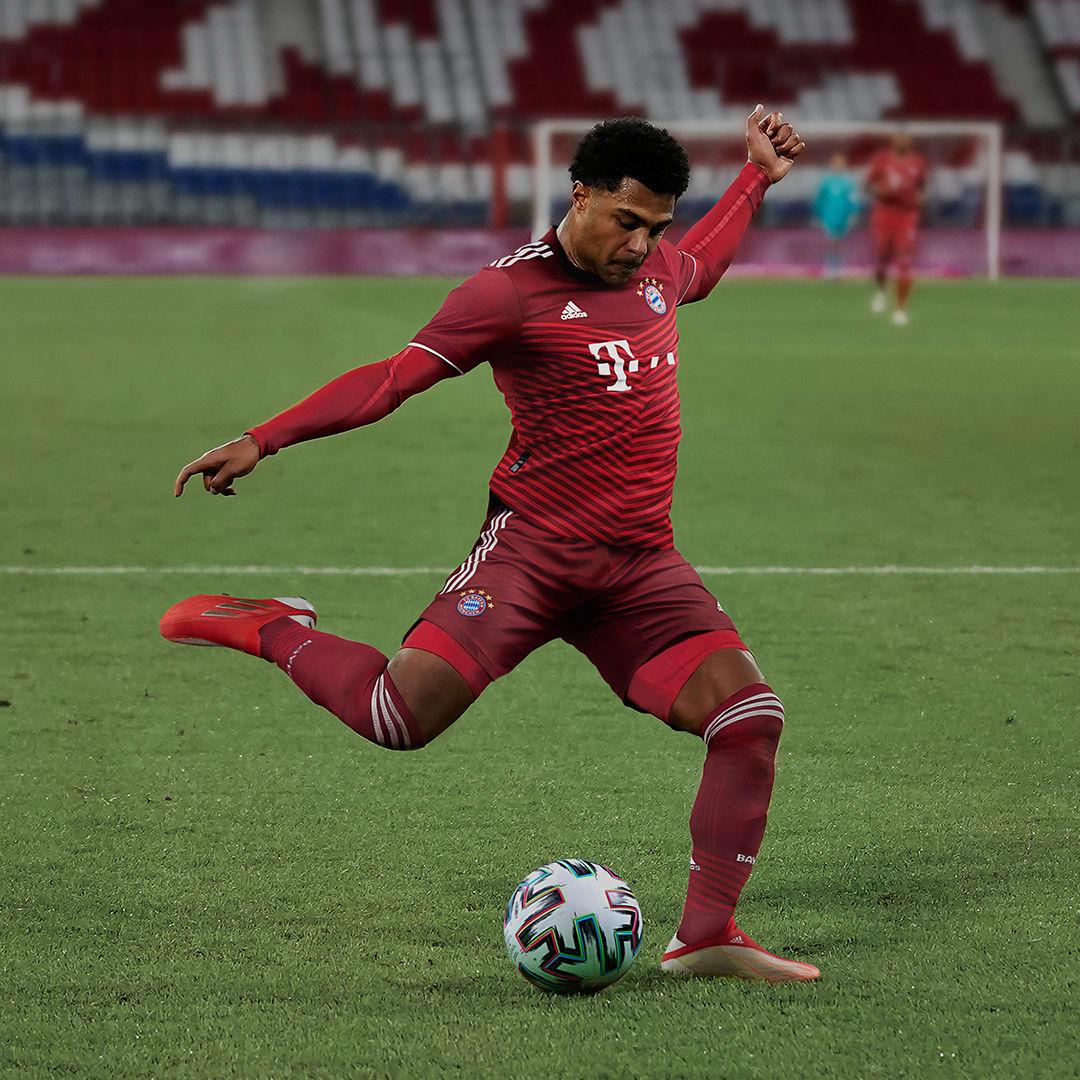 Camisa 1 Autêntica FC Bayern 21/22 Vermelho Homem Futebol